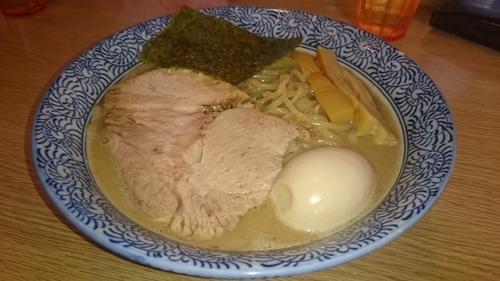 「煮干しの生きざま」@よいち つけ麺研究所 笠懸阿左美沼店の写真