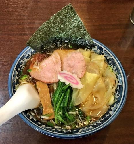 「わんたん麺」@白河中華そば 弘流の写真