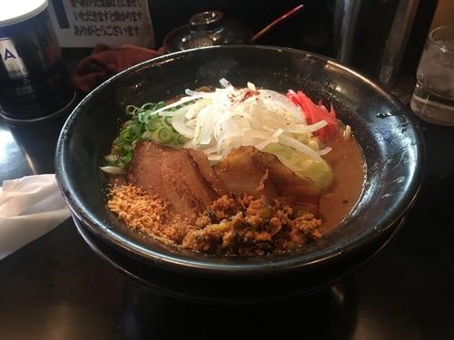 「焦がし味噌特濃」@麺家 うえだの写真