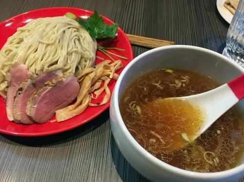 「鴨と鯛のつけ蕎麦(1000円)」@柳麺 呉田-goden-の写真