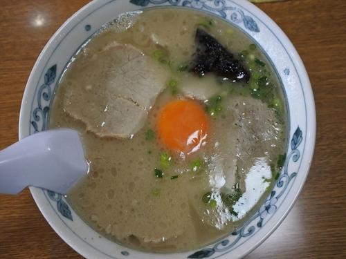 「卵入りラーメン」@幸陽閣の写真