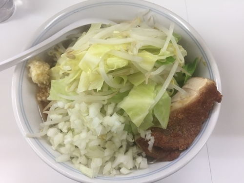 「鶏郎 醤油味 中盛(750円)」@ラーメンKAZE 本店の写真