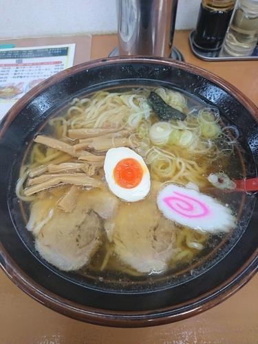 「ラーメン 750円 大盛(無料)」@青竹手打ラーメン むらいちの写真