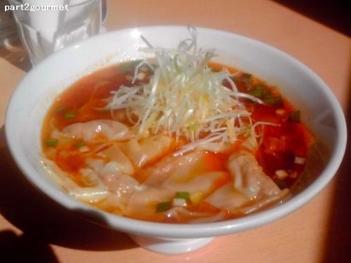 「勝浦ワンタンタン 辛さ普通(1,060円)」@Dining BAR RAGTIMEの写真