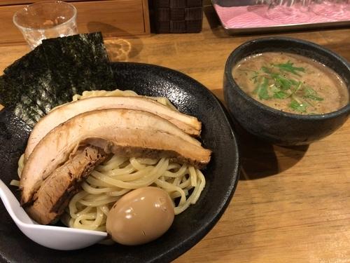 「特製雀つけ麺」@つけ麺 雀 アメ村本店の写真