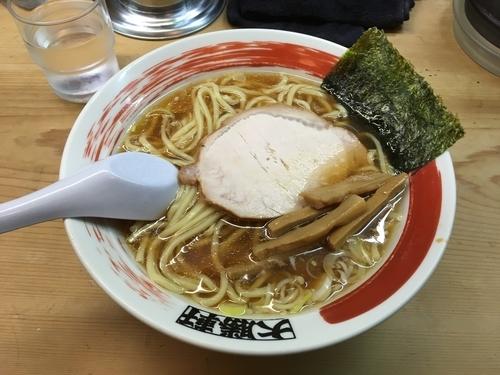 「ラーメン 太麺」@中野大勝軒の写真