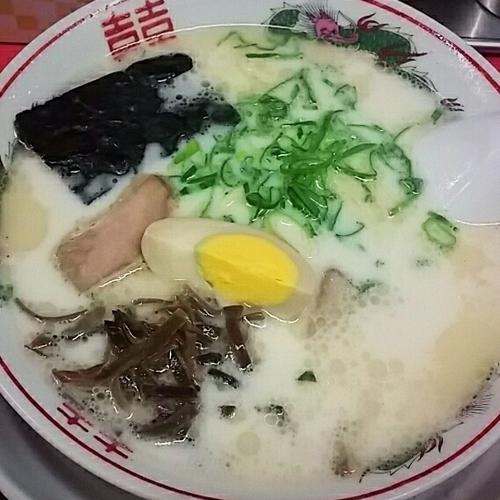 「ラーメン 650円」@元祖熊本ラーメン 赤のれんの写真