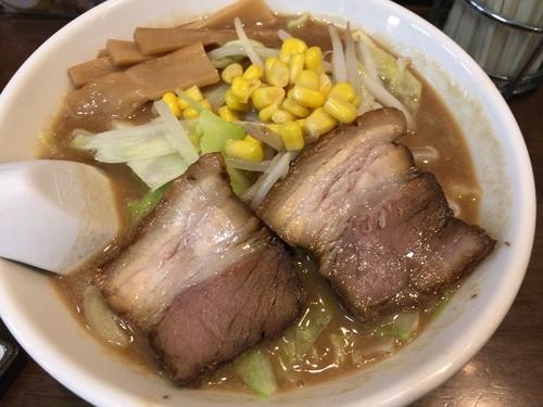 「濃厚味噌ラーメン756円」@メンや するがの写真