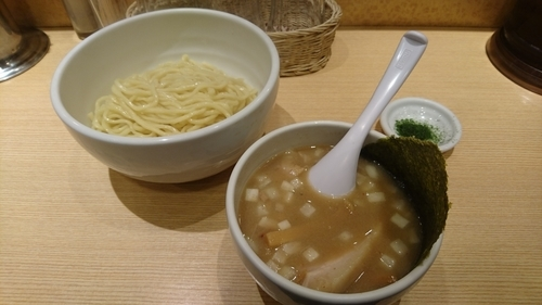「ホタテの69つけ麺(あつもり)」@SHINBASHI おらがの写真