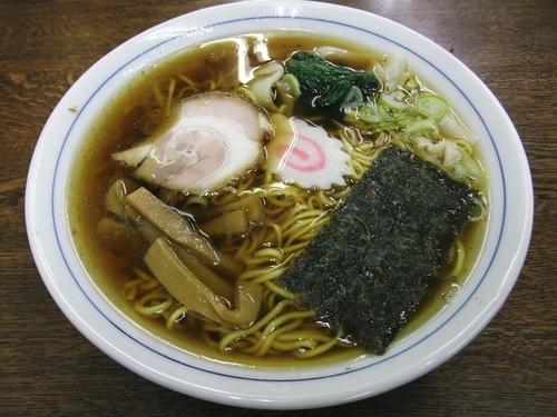 「ワンタンメン(600円)」@いち川食堂の写真