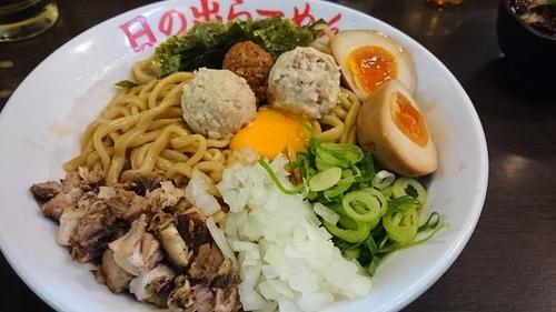 「ガツッ麺DX 味玉 大盛無料」@日の出らーめん 横浜桜木町本店の写真