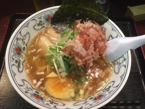 「煮干しラーメン¥780」@にぼらや 西銀座通り店の写真