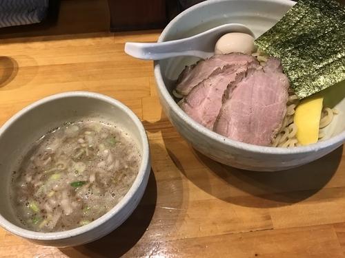 「特製しおつけ麺」@○心厨房の写真