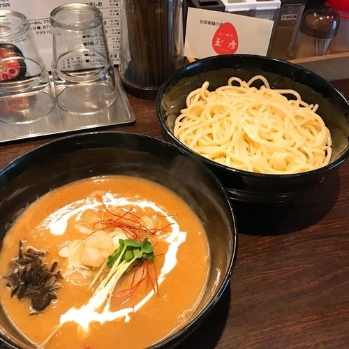 「濃厚海老味噌つけ麺」@らーめん 玉彦の写真