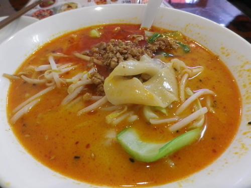「西安風担々ビャンビャン麺」@鳳凰楼 別館の写真