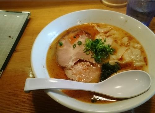 「海老塩ラーメン」@上州地鶏ラーメン 翔鶴の写真