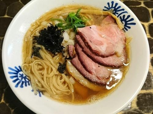 「【限定】淡麗煮干そば」@特級鶏蕎麦 龍介の写真