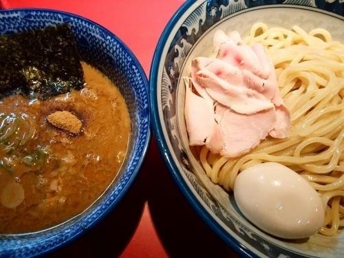 「味玉つけ麺(中盛)」@らーめん・つけめん こてんぱんの写真