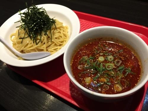 「辛つけ麺」@究極J'sラーメンの写真