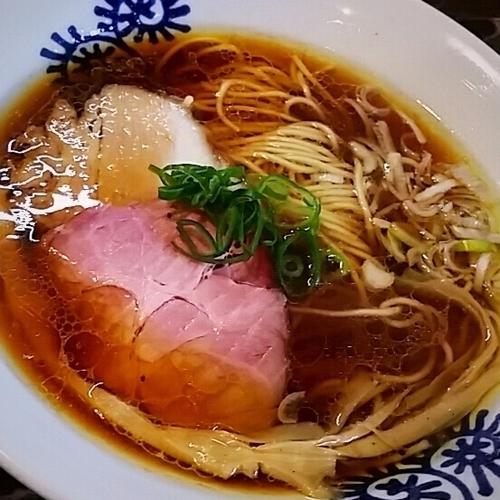 「【限定】生醤油中華そば 800円」@特級鶏蕎麦 龍介の写真
