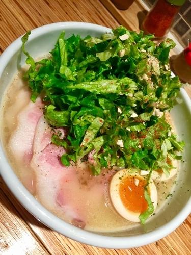 「特製鶏ソバ ¥980」@NOODLE STOCK 鶴おかの写真