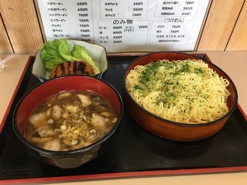 「肉汁つけめん   750円」@神社ラーメン 峰英軒の写真