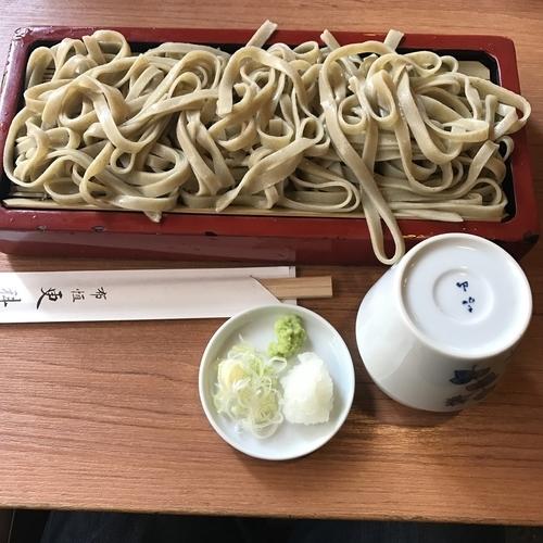 「荒挽き(¥1,130)」@布恒更科の写真