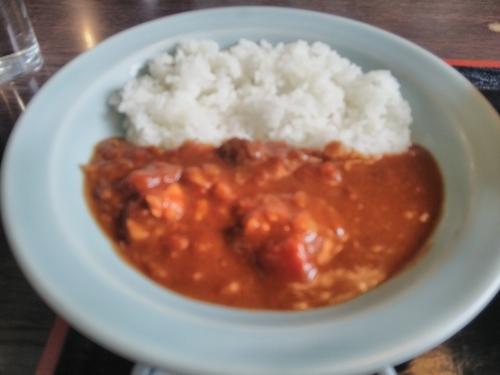 「鶏肉のカレー」@味処 やまぐちの写真