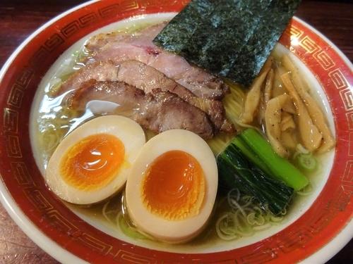 「特塩 (細麺)  850円」@麺処 懐やの写真