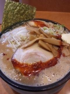 「濃厚味噌豚骨」@つけ麺 中華そば 節 用賀店の写真