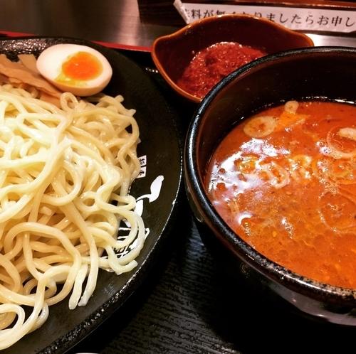 「辛ごまつけ麺」@つけ麺 てつ蔵 -TETSUZO- 東武練馬店の写真