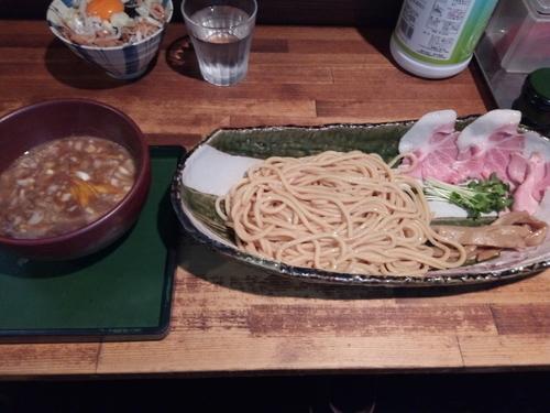 「雪つけ麺」@群青の写真