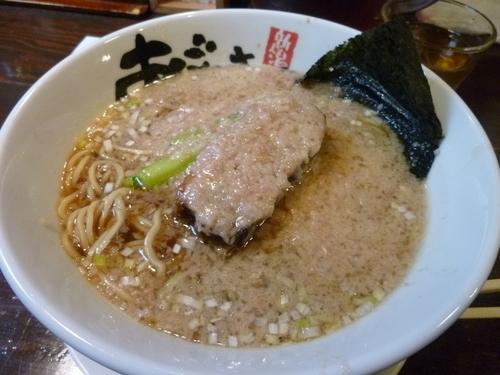 「醤油背脂麺」@麺屋 あごすけの写真