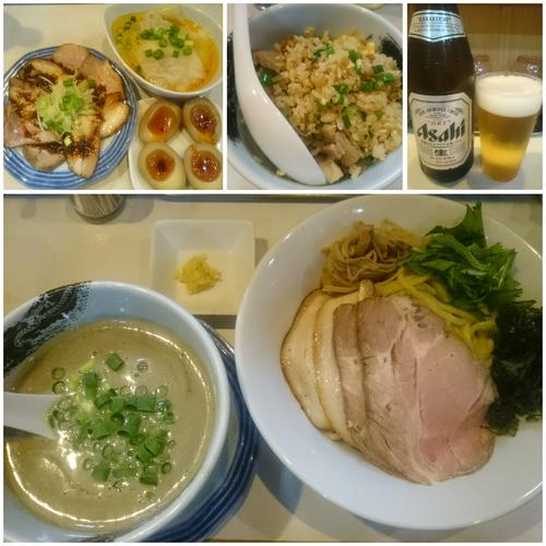 「【限定】鶏白湯煮干つけ麺 ¥800」@麺屋 扇 SENの写真