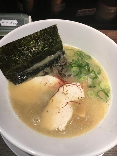 「濃厚鶏白湯ラーメン」@丸鶏白湯ラーメン 花島商店の写真