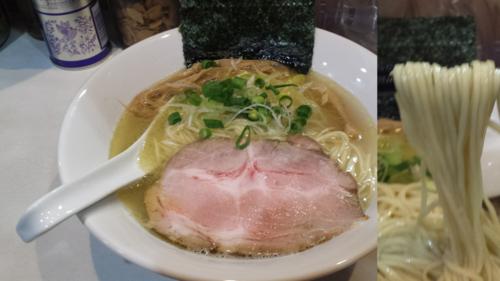「塩らーめん700円」@麺屋 扇 SENの写真