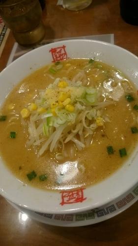 「みそラーメン  680円」@おおぎやラーメン 前橋西片貝店の写真