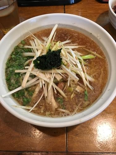 「【限定】ネギ煮干しラーメン」@はりけんラーメンの写真