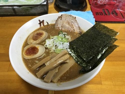 「味噌ラーメン 松 950円」@中華そば屋 大泉 九の写真
