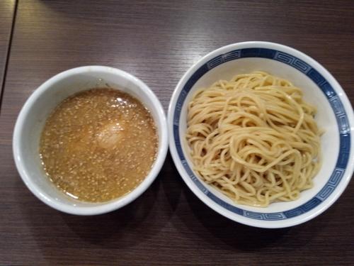 「醤油つけ麺大盛り」@らーめん 山頭火 越谷イオンレイクタウン店の写真