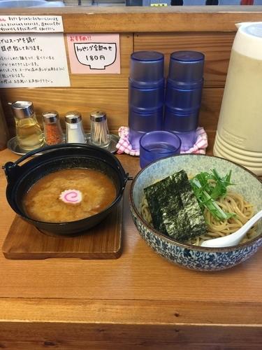 「辛つけ麺」@つけめん処 あすなろ食堂の写真