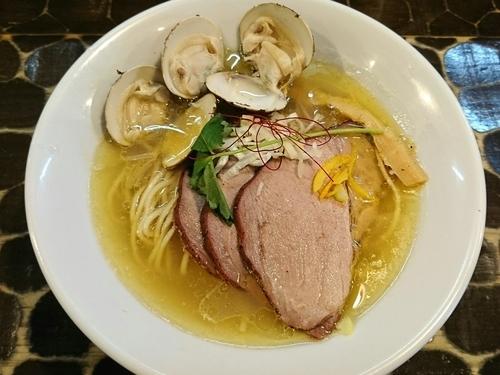 「【限定】淡麗蛤そば」@特級鶏蕎麦 龍介の写真