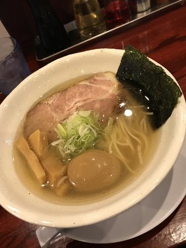 「煮卵塩ラーメン」@翔鶴 高崎店の写真