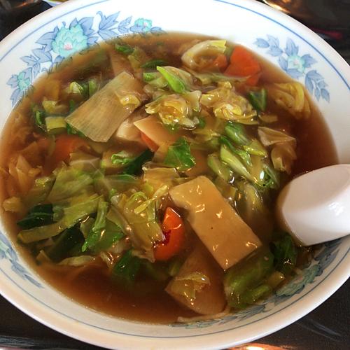 「うま煮そば 500円」@中華たわらやの写真