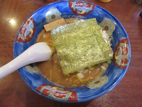「札幌ど煮干豚骨(750円)」@北海道らーめん ひむろ 龍ヶ崎店の写真