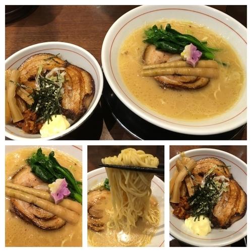 「5周年祭限定塩 500円+まかない丼 280円」@真喰者の写真