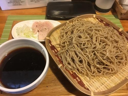 「【限定】  奥久慈しゃものざるつけそば」@中華蕎麦 はざまの写真