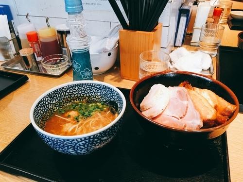 「チャーシュー濃厚魚介つけ麺(1100円)」@麺屋 一燈の写真