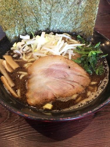 「味噌ラーメン大(900円)」@横浜家系ラーメン 極み家の写真