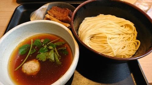 「あっさり淡麗煮干しつけ麺(並) ¥ 800」@煮干し中華そば 一燈の写真